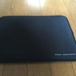 iPadProはMacBookAirのケースにピッタリ入る!