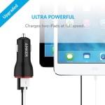 急速充電も確認!Powerdrive2(USBカーチャージャー)レビュー