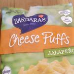 Barbara'sBakery, チーズパフ、ハラペーニョレビュー