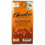 Chocoloveのシーソルトチョコを食べてみた。美味しい!