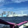 東京観光は水上バスが気持ちいい季節です