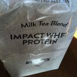 マイプロテインの「ミルクティープロテイン」がめちゃめちゃ美味しかった!