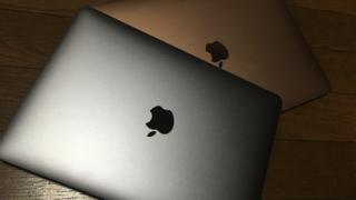 MacBook Air(2018)は見た目より重いです