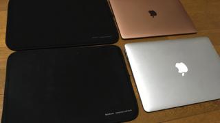 MacBook Air(2018)用の安いカバーを購入