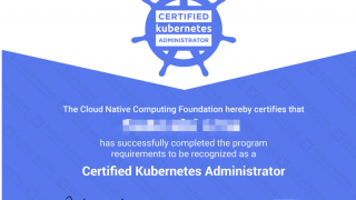 Certified Kubernetes Administrator (CKA)を受験した