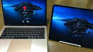 Macを開いた瞬間にSidecarが使える!凄い!