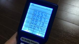 [テレワーク]部屋の二酸化炭素濃度を確認してみた。